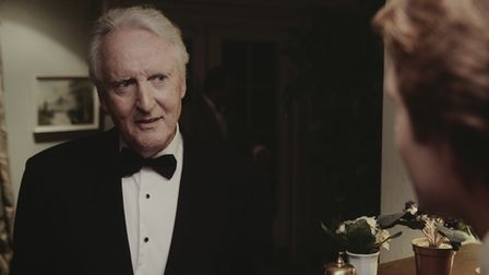 Hugh Fraser in 40 Years, one of the eight stories in The Haunted Hotel