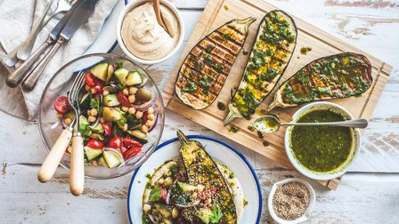 A delicious vegan spread - but could you eat 30 portions of plant-based food a week?