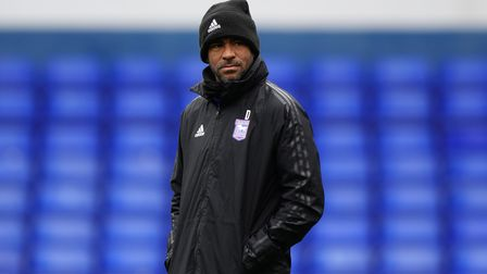 Kieron Dyer pictured ahead of the game against Bristol Rovers.