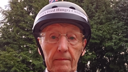 John Wilcock, who learned to skate in Cromer, has started a fundraising campaign for the charity FairShare.