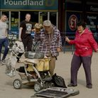 Great Yarmouth's Puppet Man, ahead of the curve back in March 2020 adopting a mask as he entertained
