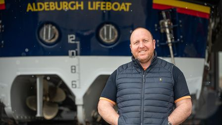 Aldeburgh RNLI Station Mechanic James Cable had his shopping paid by a member of the public