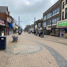 Regent Road in Great Yarmouth on Easter Monday