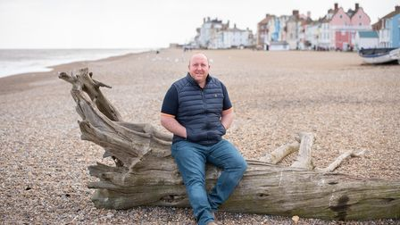 Aldeburgh RNLI Station Mechanic James Cable had his shopping paid by a member of the public after he