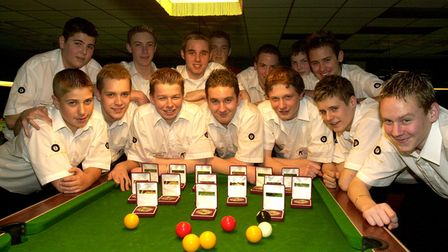EADT SPORTRegional champions: The Suffolk Pool Association Junior Team that took part in the nat