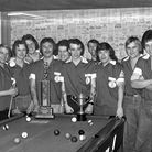 STAR MEMORY FRAME NOSTALGIA A pool team at The Sporting Farmer pub, Ipswich, in December 1976