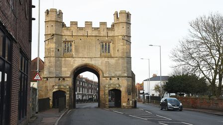 The South Gate in King's Lynn. Picture: Ian Burt