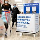 The new Trussell Trust donation point at Tesco Extra in Dereham