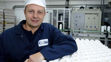 Coda Plastics Ltd in North Walsham which makes products for St Tropez, Worthington and Imperial Leat