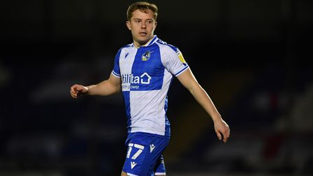 Bristol Rovers' James Daly during the Sky Bet League One match at Memorial Stadium, Bristol. Picture