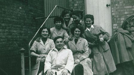 Ely Brewery workers