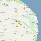 More than 2,200 properties in several parts of Norfolk and beyond were hit by a major power cut on Wednesday morning.