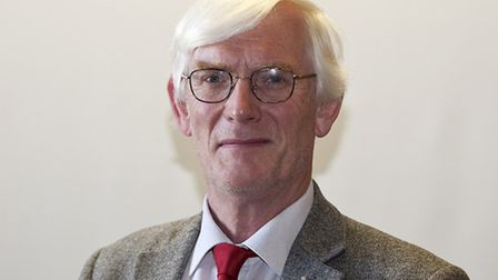 Alan Waters, leader of Norwich City Council. Pic: Jeff Taylor.