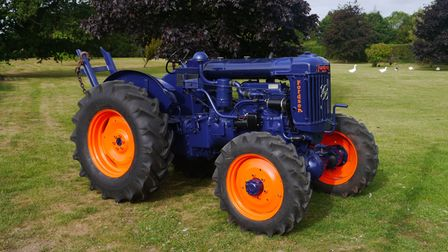 This FordsonSuper Major 4cylinder diesel tractor will be up for sale at the Cheffins auction