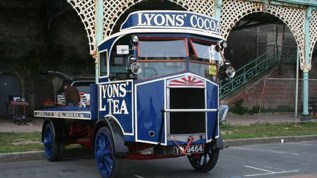 This 1927 Albion LK35 will go under the hammer at the Cheffins auction in Sutton on April 24.