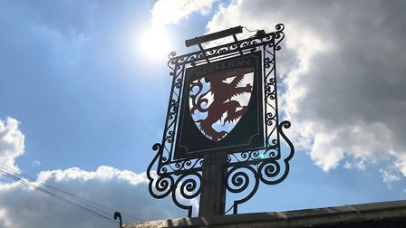 The Lion in East Bergholt, formerly The Red Lion, has been newly refurbished. Picture: Lauren De Boi
