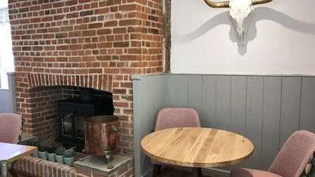 Inside The Lion in East Bergholt, formerly The Red Lion, which has been newly refurbished. Picture: