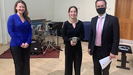 King's Ely pupil wins music award