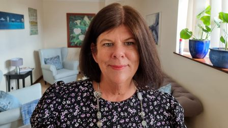 """Karen Bonthelius, a counsellor based in Watton, says the impact of Covid illness on mental health has been """"horrendous"""""""
