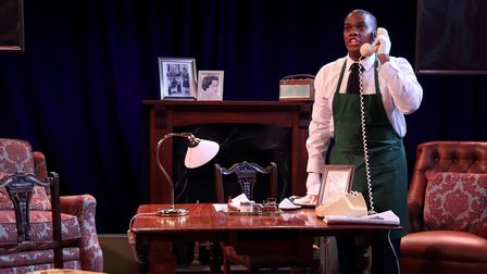 Jeremy Cobb as Henstridge in All 4 One, a previous production by Theatre on the Coast