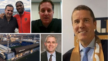 The men involved in Ipswich Town Football Club's takeover