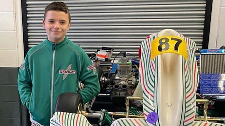 Benwick go-kart driver switches teams