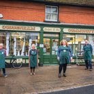 Coddenham Community Shop is one of those to benefit from a Hopkins Plunkett Communities Scheme grant