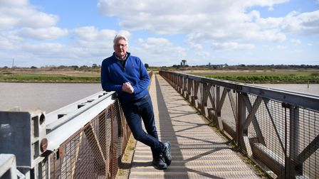 Mark Dorber fears the closure of the Bailey bridge connecting Southwold and Walberswick could impact on his business