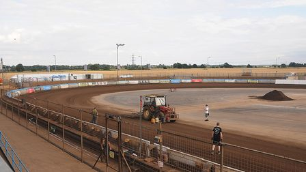 Adrian Flux Arena - home of King's Lynn Stars speedway