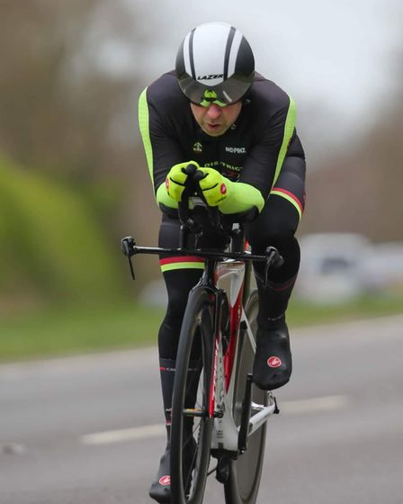 Will Shepherd of Ely & District Cycling Club
