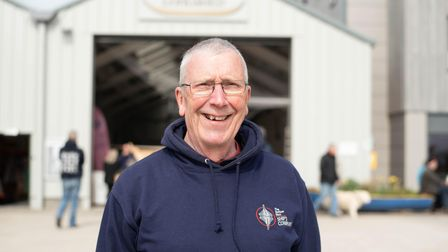 Philip Leech, Director and Chair of The Sutton Hoo Ship's Company. Picture: Sarah Lucy Brown