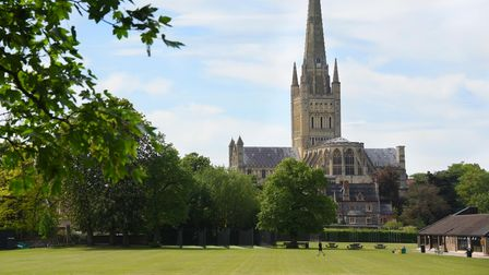 Norwich Cathedral spire