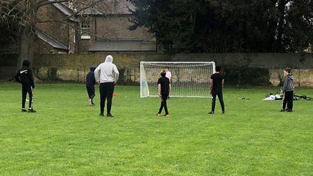 Soham youngsters to benefit from new goalposts