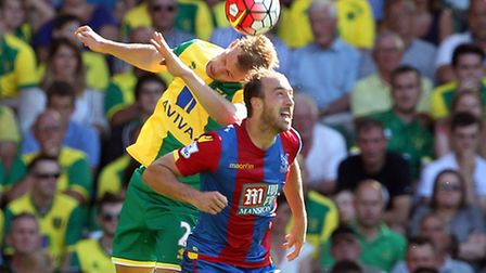 Norwich City have reportedly made a move for Crystal Palace's Glenn Murray. Picture by Paul Chestert