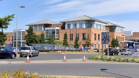 Lucy Humphries was flown to Norfolk and Norwich University Hospital, where she died. Picture: Nick B