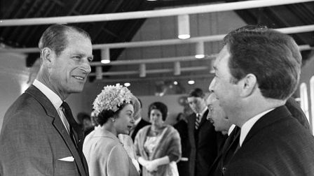 Prince Philip at Snape in 1967