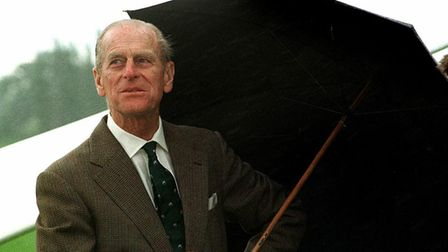 Prince Philip visits the British Glider Association in Wormingford back in 1998