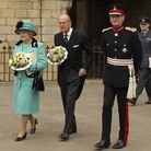 eadt news west - dave gooderham/russell claydon The Queen visits Bury St Edmunds for a Maunday T