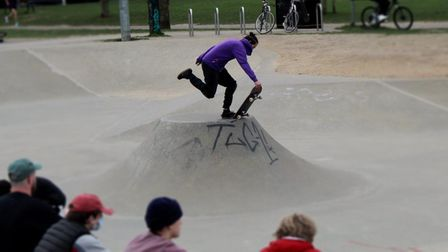 Skateboarders in Norwich are calling for more space in the city.