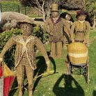 The Wicker Family back in the Spa Gardens at Felixstowe