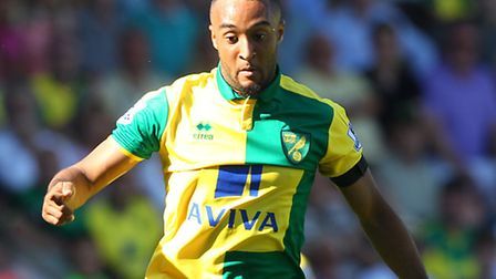 Nathan Redmond on the charge for Norwich City. Picture: PAUL CHESTERTON/FOCUS IMAGES