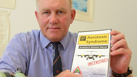 Former airline pilot John Hoyte is at the centre of a fight after he quit in 2005 after suffering 16