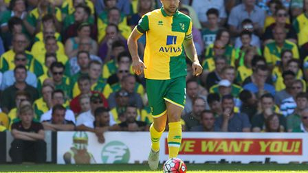 Russell Martin on the ball for the Canaries. Picture: PAUL CHESTERTON/FOCUS IMAGES