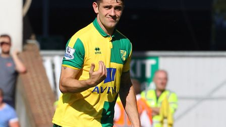 Robbie Brady has started his life at Carrow Road impressively. Picture: PAUL CHESTERTON/FOCUS IMAGES