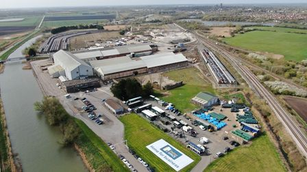 The BBC's outside broadcast crew were hosted by Ely Business Park