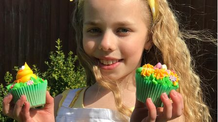 Amelia Jane Balls from Potter Heigham has raised over £1000 for Stand Up To Cancer