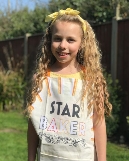 Amelia Jane Balls of Potter Heigham has been baking for good causes during the pandemic