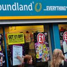 General view of Poundland sign, Derby. Picture: PA Wire