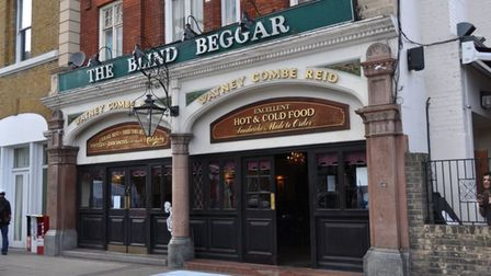Blind Beggarclaimsto be Britain's most famous boozer where Ronnie Kray shot dead George Cornell in 1966
