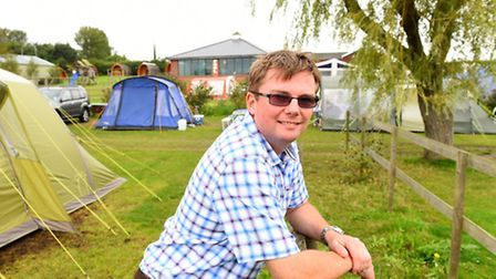 James Knight who runs the Waveney River Centre at Burgh St Peter.Picture: James Bass